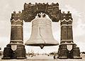 "1926 Sesqui-Centennial Exposition ""Luminous Liberty Bell"", Philadelphia, PA.jpg"