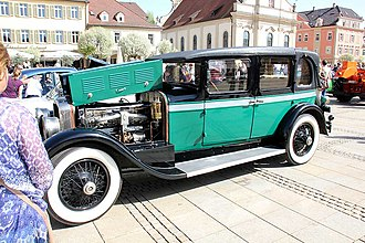 Stutz Motor Company - 1926 Stutz Vertical Eight AA landaulet