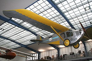 Volksflugzeug - The Etrich Sport-Taube at the National Technical Museum (Prague).