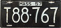 1957 Massachusetts license plate.JPG
