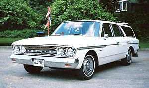 English: 1963 Rambler Classic 660 Station Wago...