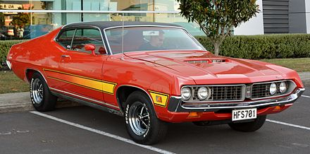 1971 ford torino gt 2 door fastback with optional vinyl roof