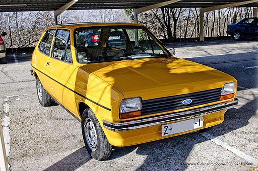 1978 Ford Fiesta L MKI (6860866078)