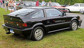 Honda CR-X - 1987 Honda CRX Si (U.S.)