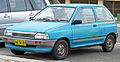 1988-1989 Mazda 121 (DA) Shades 3-door hatchback 02.jpg
