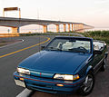1992 Pontiac Sunbird Convertible at Confederation Bridge.jpg