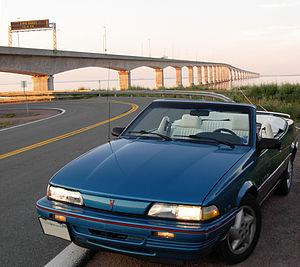 Pontiac Sunbird - 1992 Pontiac Sunbird SE Convertible
