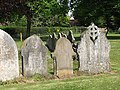 19th century headstones - geograph.org.uk - 798409.jpg