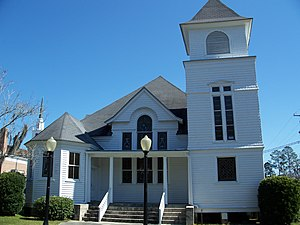 First Baptist Church (Madison, Florida) - Image: 1st Baptist Church Madison 03