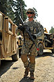 1st Lt. Jeremy Gilbert conducts convoy training (7650720646).jpg