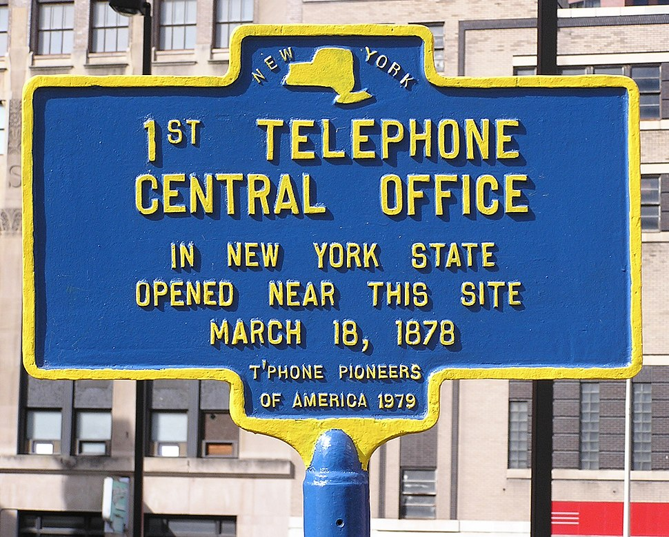 1st Telephone Central Office