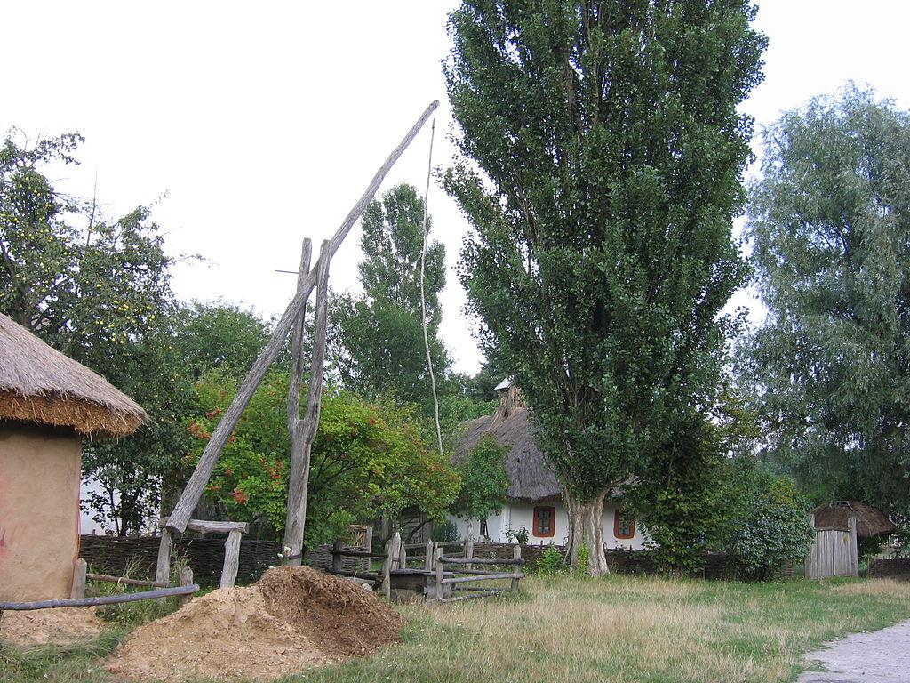 Сільський журавель в Пирогові