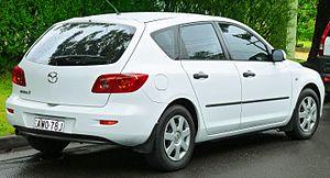 Mazda3 - Hatchback (pre-facelift)