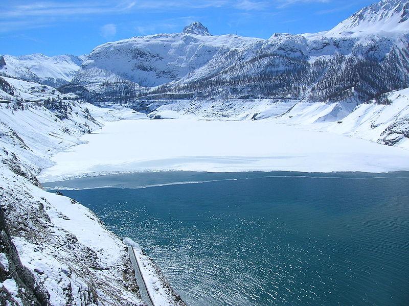 File 200603 barrage de tignes 05 jpg wikimedia commons - Lac du chevril ...