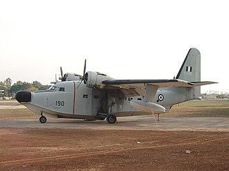 No. 330 Squadron RNoAF - After ending service in Norway the Albatrosses were transferred to the Hellenic Air Force, here depicting an ex-Norwegian heritage aircraft