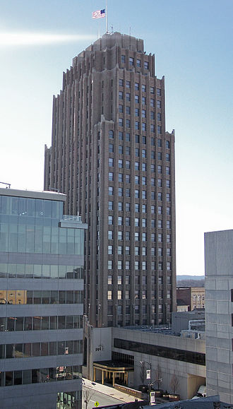 PPL Corporation - The PPL Building is the tallest building in Allentown, Pennsylvania.