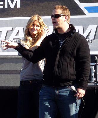 Chris Rose - Rose in December 2008 with model Marisa Miller