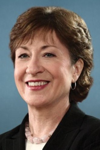 United States Senate election in Maine, 2008 - Image: 2008 Susan Collins 2 by 3 crop