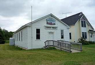 Cross Village Township, Michigan - The Cross Village Heritage Museum is housed in the old Town Hall.