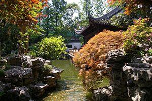 Chinese garden - Image: 20090510 Shanghai Yuyan 6689