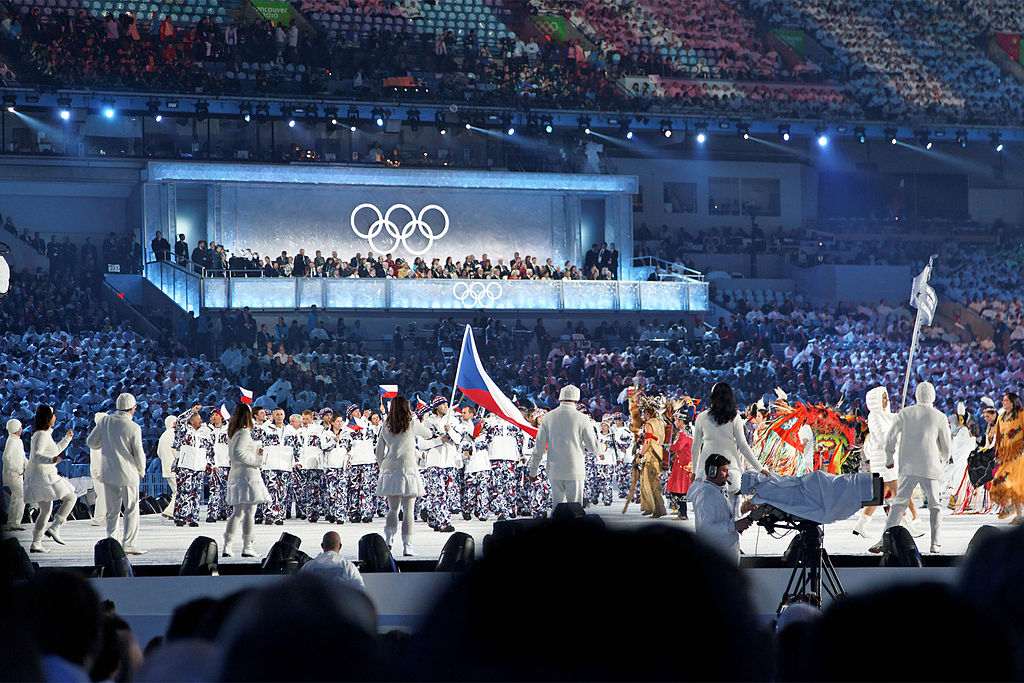 2010 Olympic Winter Games Opening Ceremony - Czech Republic entering