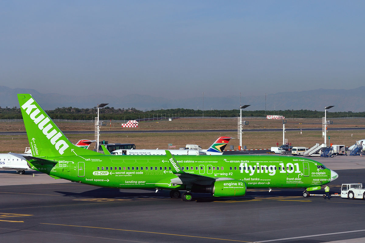 Kulula Airlines - Africa's Low-Cost Airlines