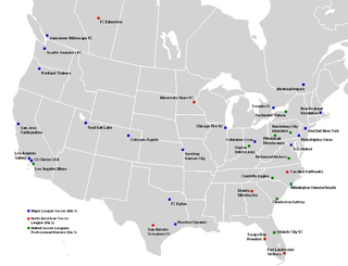 2012 in American soccer association football-related events in the USA during the season of 2012