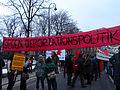 2013-02-16 - Wien - Demo Gleiche Rechte für alle (Refugee-Solidaritätsdemo) - Transparent Gegen Deportationspolitik.jpg