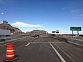 2014-06-22 17 06 42 View east along Interstate 80 at the Nevada-Utah state line in West Wendover, Nevada and Wendover, Utah.JPG