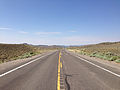 2014-07-17 09 22 11 View west along U.S. Route 6 about 12.4 miles east of the Nye County Line in White Pine County, Nevada.JPG