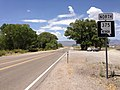 2014-07-18 12 21 40 First reassurance sign along northbound Nevada State Route 375 in Crystal Springs, Nevada.JPG