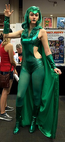 Cosplay de Polaris.