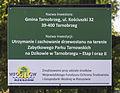 2014 Tarnobrzeg, Zamek Tarnowskich, park, 12.JPG