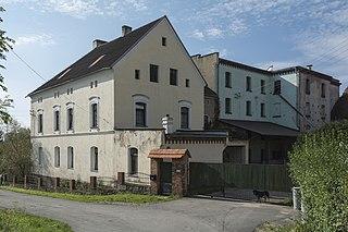 Byczeń Village in Lower Silesian, Poland