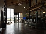 2015-05-05 10 53 49 Entrance to the security screening area within the terminal at the Elko Regional Airport in Elko, Nevada.jpg
