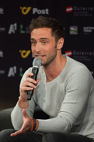 Sweden in the Eurovision Song Contest 2015 - Zelmerlöw during a press meet and greet.