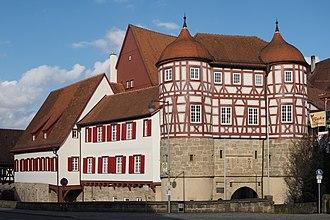 Gaildorf - The Old Castle in Gaildorf