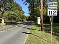 2016-10-14 14 44 48 View north along Maryland State Route 112 (Seneca Road) at Maryland State Route 190 (River Road) in Darnestown, Montgomery County, Maryland.jpg