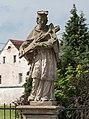 2016 Figura św. Jana Nepomucena w Wilkanowie 02.jpg
