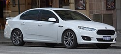 2016 Ford Falcon (FG X) XR6 sedan (2017-04-22) 01.jpg