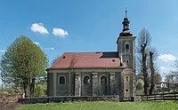 2016 Kościół św. Mikołaja w Laskówce 02.JPG