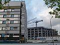2017-Woolwich, Premier Inn construction site 04.jpg