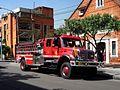 2017 Bogotá camión de bomberos, cr 9 cl 70 A Quinta Camacho.jpg