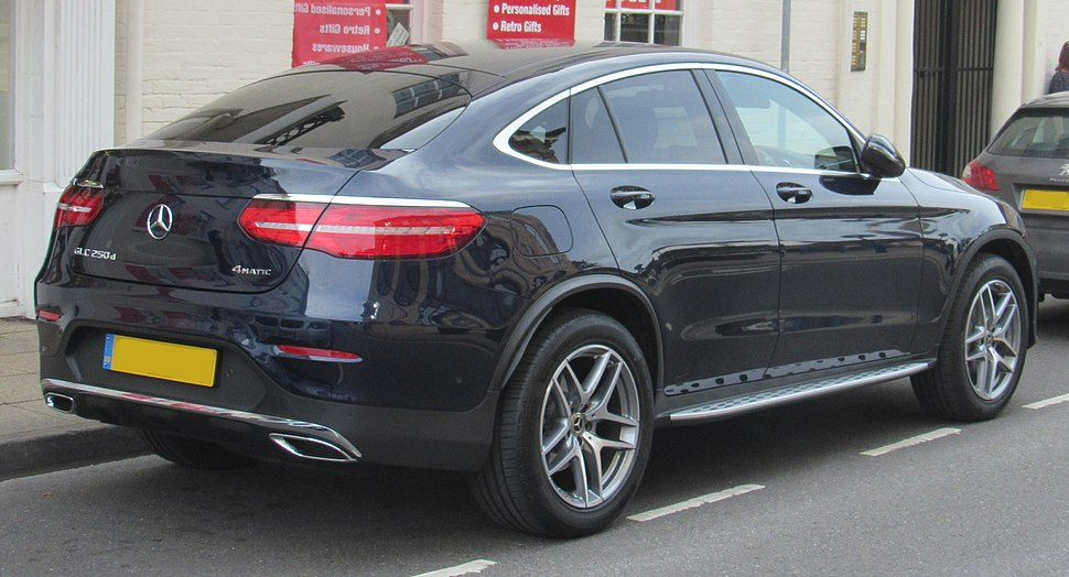 2017 Mercedes-Benz GLC 250d 4Matic AMG Line Coupe Automatic 2.1 Rear