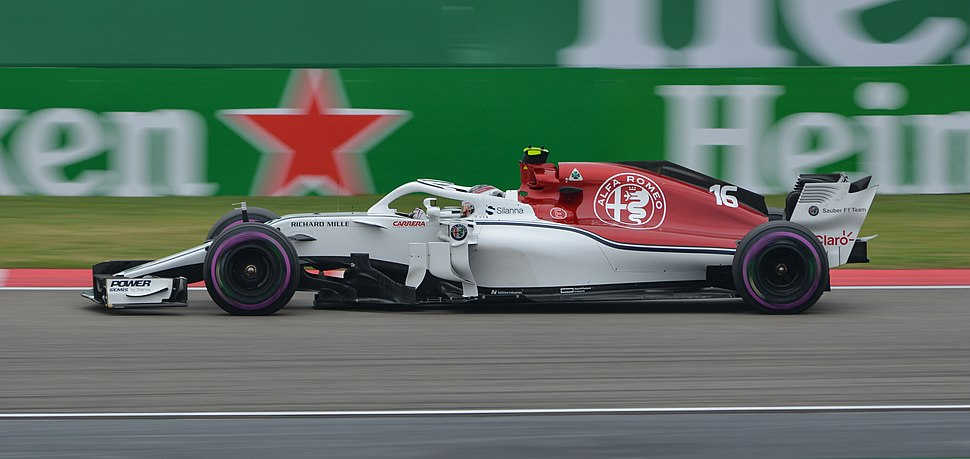 2018 Chinese Grand Prix FP3 Charles Leclerc (39897914770) (cropped)
