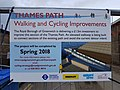 2018 Thames Path, missing link near Thames Barrier 5.jpg