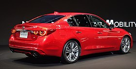 2019 Nissan Skyline Hybrid GT Type SP rear.jpg