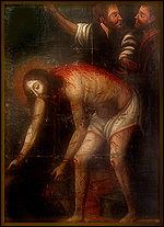 Um �ndio an�nimo no s�culo XVII produziu este Cristo a�oitado, hoje no Museu de Arte Sacra de Pernambuco, onde se percebe uma pletora de influ�ncias estil�sticas ex�ticas