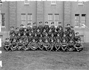 41 Service Battalion - 2 Corps Troops, RCASC, Sr NCOs, ca 1936