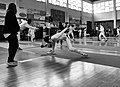 2nd Leonidas Pirgos Fencing Tournament. Foot touch for the attacker.jpg